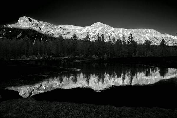 California, Yosemite National Park, Eastern Sierra, Sunset, Black White, Landscape  加利福尼亚 优胜美地国家公园, 黑白摄影, 风景, 日落