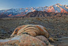 California, Eastern Sierra, Alabama Hills, Mount Whitney, Sunrise, Rocks, Landscape, , , , 