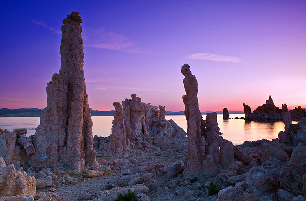 California, Eastern Sierra, Mono Lake, Sunrise, 加利福尼亚, 莫诺湖, 日出