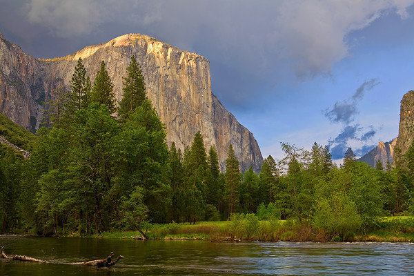 California, Yosemite National Park, El Captain,Sunset, 加利福尼亚, 优胜美地国家公园,日落