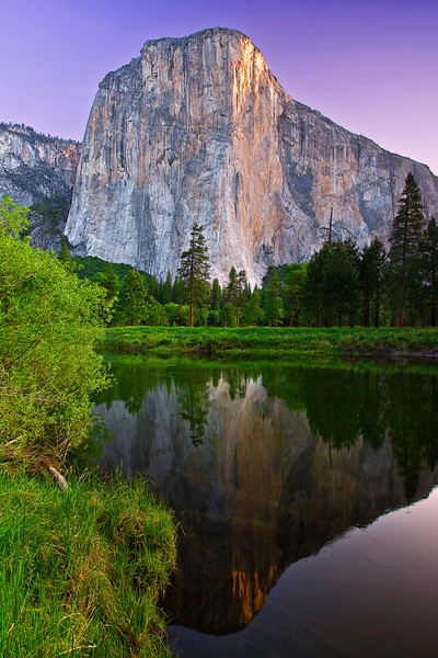 California, Yosemite National Park, El Captain,Sunrise, Reflection,  加利福尼亚, 优胜美地国家公园,日出,倒影
