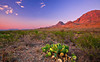 Texas, Big Bend National Park, Texas, Chisos Mountains, Sunset, Landscape, , 