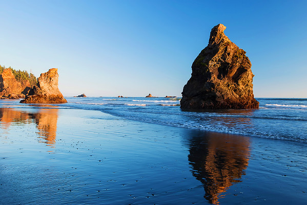 Washington State, Olympic National Park, Ruby Beach, Sunset, 华盛顿州, 奧林匹克國家公園